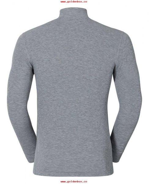 Odlo Shirt LS warm grijs